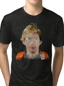 MATT (RADAR TECHNICIAN) LOW POLY Tri-blend T-Shirt