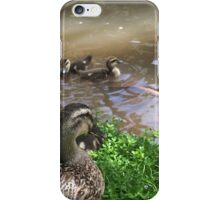 A ducks point of view iPhone Case/Skin