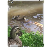 A ducks point of view iPad Case/Skin