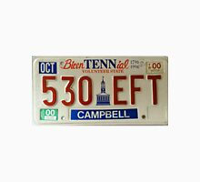 Tennessee Licence Plate USA Unisex T-Shirt