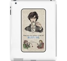 Burning Tea iPad Case/Skin