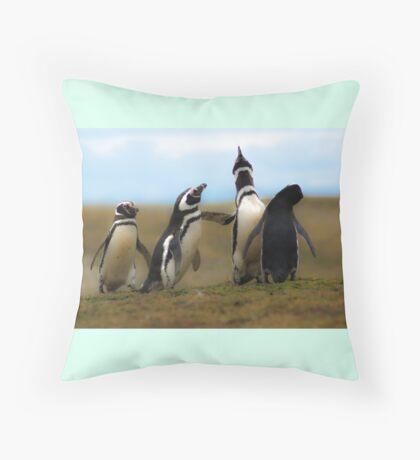 Ecstatic Display Throw Pillow