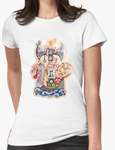 fof thug/maiden  Womens Fitted T-Shirt