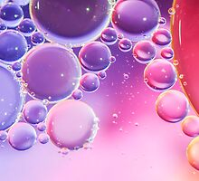 Abstract Colorful Bubbles Macro by MMPhotographyUK