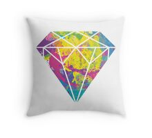 Candy Diamond Throw Pillow