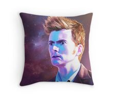 The Man Who Keeps Running (Print) Throw Pillow