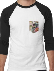 POCKET PUSSIES Men's Baseball ¾ T-Shirt