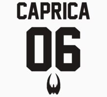 Caprica Baseball Shirt by greyjoy