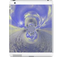 Blue Psychedelic Design iPad Case/Skin