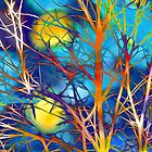 Psychedelic Branches by Michael Andersen