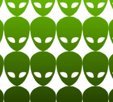 ALIENS / GREEN Sticker