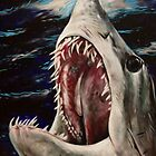 Mako Shark of Dark Waters by Kristin Frenzel
