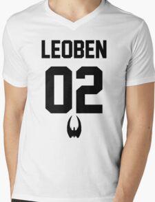 Leoben Jersey Mens V-Neck T-Shirt