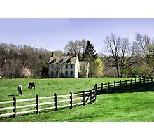 Chester County, Pennsylvania Horse Farm Photographic Print
