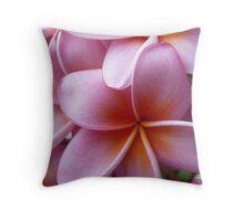Frangipani #1 Cushion  Throw Pillow