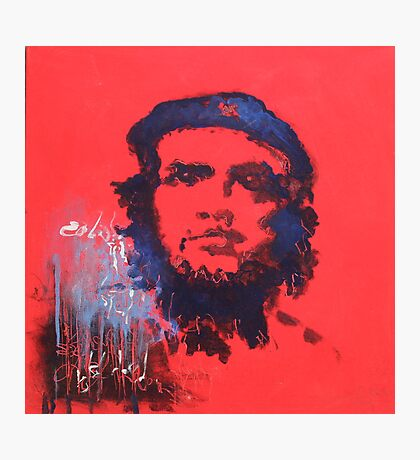 Abstract Che Guevara Painting Photographic Print