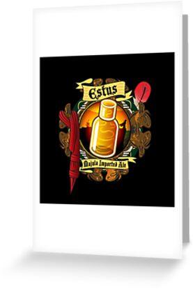 Estus Majula Imported Ale (Dark Souls 2) by PixelStampede