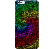 Rainbow Swirl Square Case iPhone Case/Skin