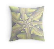 Pastel Spiral Arms Throw Pillow