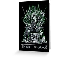 Throne of Games - You Win Or You Die - V2 Greeting Card