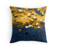 Frozen Bubbles Throw Pillow