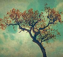 Vintage Rusty Tree by Honey Malek