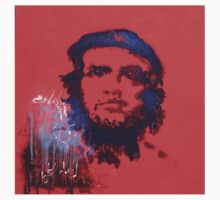 Abstract Che Guevara Painting Baby Tee