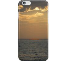 Sunset On The Michigan Great Lakes iPhone Case/Skin
