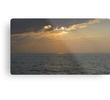 Sunset On The Michigan Great Lakes Metal Print