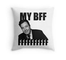 My BFF FFFFFFFFFF Throw Pillow