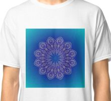 Blue Mandala of Hope Classic T-Shirt