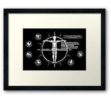 3d Maneuver Gear (Attack On Titan) Framed Print