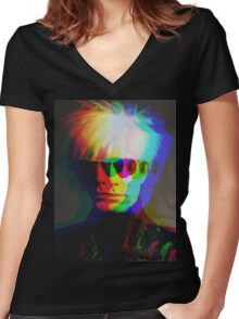 Warhol Women's Fitted V-Neck T-Shirt