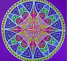 Alignment Mandala by Keesha Goode