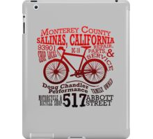 Doug Chandler Performance (Gradient: Red to Black) iPad Case/Skin