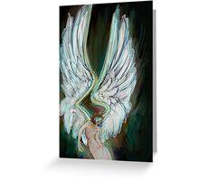 Icarus Rising Greeting Card