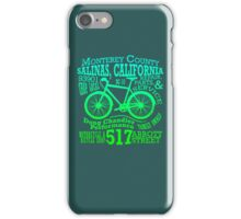 Doug Chandler Performance (Gradient: Blue to Green) iPhone Case/Skin