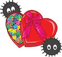Valentines Candy for Soot Sprites Photographic Print