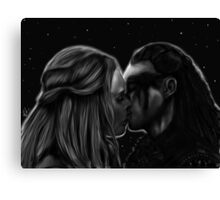 Clexa Eternal Canvas Print