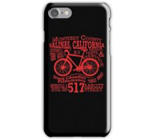 Doug Chandler Performance (Red) iPhone Case/Skin