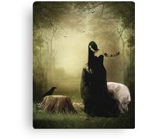 Maiden of the forest Canvas Print