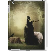 Maiden of the forest iPad Case/Skin