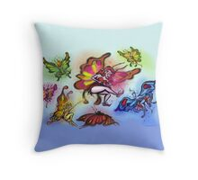 Faeries Throw Pillow