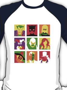 Villain Bat PopArt T-Shirt