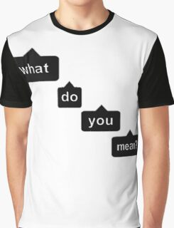 justin bieber - what do you mean Graphic T-Shirt