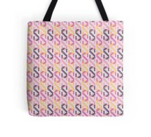 Retro Chain Pattern - Pink Tote Bag