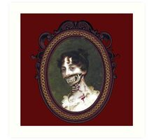 Pride and Prejudice and Zombie The Novels Art Print