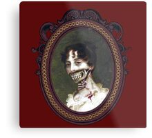Pride and Prejudice and Zombie The Novels Metal Print