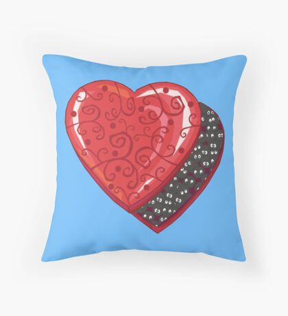 Box of Soot Sprites Throw Pillow