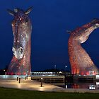 The Kelpies, Falkirk, Scotland by Jim Wilson